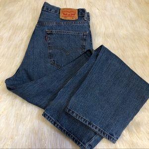 Levi's 550 Denim Mens Jeans Size 36